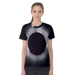 Solar Eclipse Women s Cotton Tee
