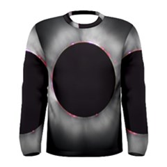 Solar Eclipse Men s Long Sleeve Tee