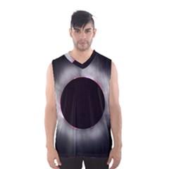 Solar Eclipse Men s Basketball Tank Top