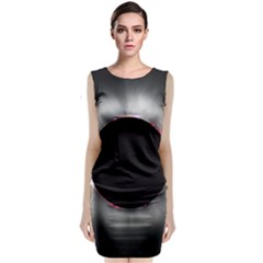 Solar Eclipse Classic Sleeveless Midi Dress