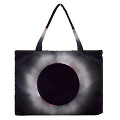 Solar Eclipse Medium Zipper Tote Bag