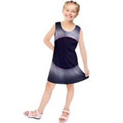 Solar Eclipse Kids  Tunic Dress