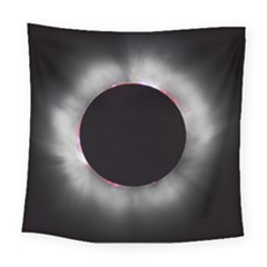 Solar Eclipse Square Tapestry (large)