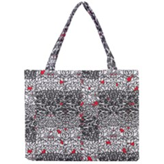 Sribble Plaid Mini Tote Bag