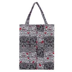 Sribble Plaid Classic Tote Bag