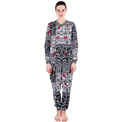 Sribble Plaid OnePiece Jumpsuit (Ladies)