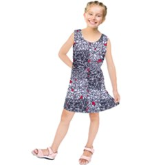 Sribble Plaid Kids  Tunic Dress