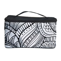 Zentangle Art Patterns Cosmetic Storage Case