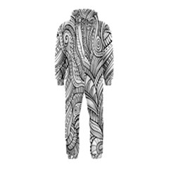 Zentangle Art Patterns Hooded Jumpsuit (Kids)
