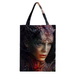 Digital Fantasy Girl Art Classic Tote Bag