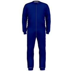 Bubbles Circle Blue OnePiece Jumpsuit (Men)