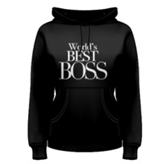 World s Best Boss   Women s Pullover Hoodie
