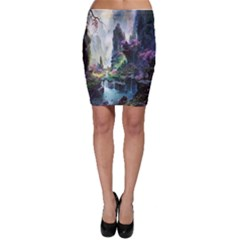 Fantastic World Fantasy Painting Bodycon Skirt