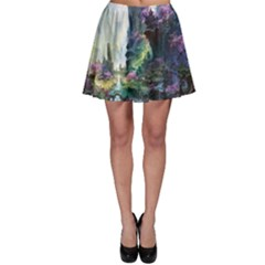 Fantastic World Fantasy Painting Skater Skirt