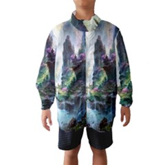 Fantastic World Fantasy Painting Wind Breaker (kids)