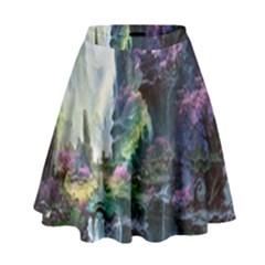 Fantastic World Fantasy Painting High Waist Skirt
