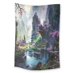 Fantastic World Fantasy Painting Large Tapestry