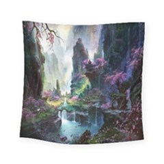 Fantastic World Fantasy Painting Square Tapestry (Small)