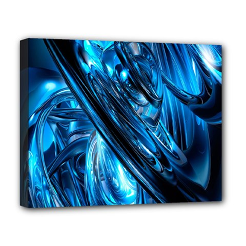 Blue Wave Deluxe Canvas 20  X 16