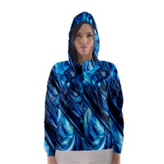 Blue Wave Hooded Wind Breaker (Women)