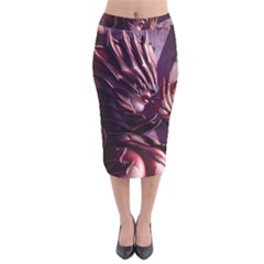 Fantasy Art Legend Of The Five Rings Steve Argyle Fantasy Girls Velvet Midi Pencil Skirt