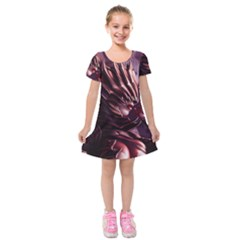 Fantasy Art Legend Of The Five Rings Steve Argyle Fantasy Girls Kids  Short Sleeve Velvet Dress