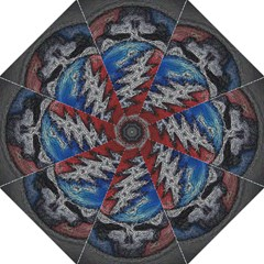 Grateful Dead Logo Folding Umbrellas