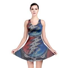 Grateful Dead Logo Reversible Skater Dress