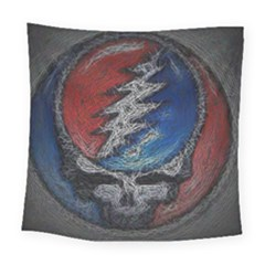 Grateful Dead Logo Square Tapestry (large)