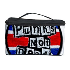 Punk Not Dead Music Rock Uk Flag Cosmetic Storage Case