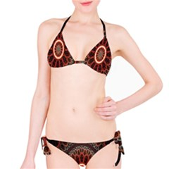 Circles Shapes Psychedelic Symmetry Bikini Set