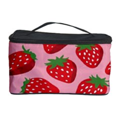 Fruitb Red Strawberries Cosmetic Storage Case