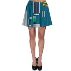 Amphisbaena Two Platform Dtn Node Vector File Skater Skirt
