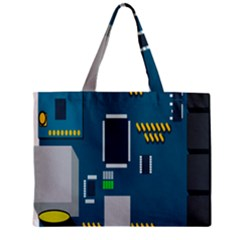 Amphisbaena Two Platform Dtn Node Vector File Zipper Mini Tote Bag