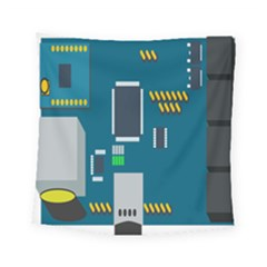 Amphisbaena Two Platform Dtn Node Vector File Square Tapestry (Small)