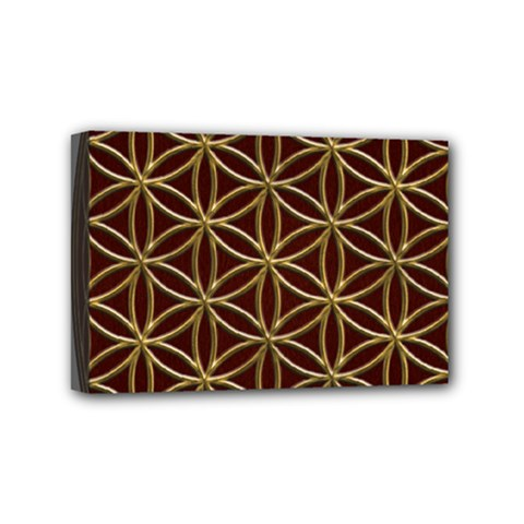 Flower Of Life Mini Canvas 6  X 4
