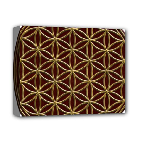 Flower Of Life Deluxe Canvas 14  x 11
