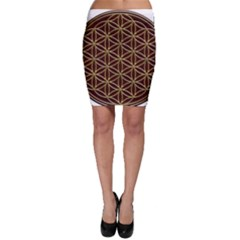 Flower Of Life Bodycon Skirt