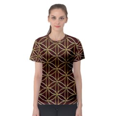 Flower Of Life Women s Sport Mesh Tee
