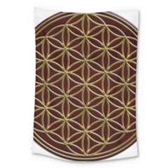 Flower Of Life Large Tapestry