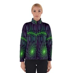 Light Cells Colorful Space Greeen Winterwear