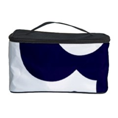 Month Blue Cosmetic Storage Case
