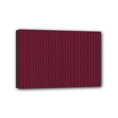 Camouflage Seamless Texture Maps Red Beret Cloth Mini Canvas 6  x 4