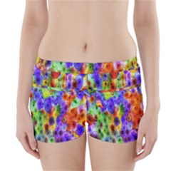 Green Jellyfish Yellow Pink Red Blue Rainbow Sea Purple Boyleg Bikini Wrap Bottoms