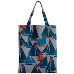 Ship Sea Blue Classic Tote Bag