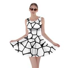Seamless Cobblestone Texture Specular Opengameart Black White Skater Dress