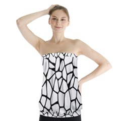 Seamless Cobblestone Texture Specular Opengameart Black White Strapless Top