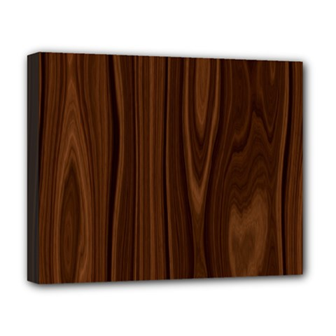 Texture Seamless Wood Brown Deluxe Canvas 20  x 16