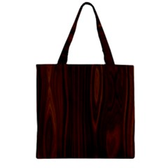 Texture Seamless Wood Brown Zipper Grocery Tote Bag