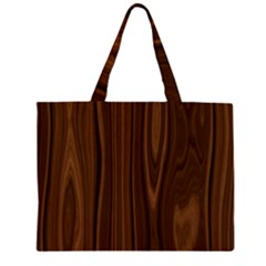 Texture Seamless Wood Brown Large Tote Bag